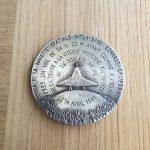 médaille aérospatiale