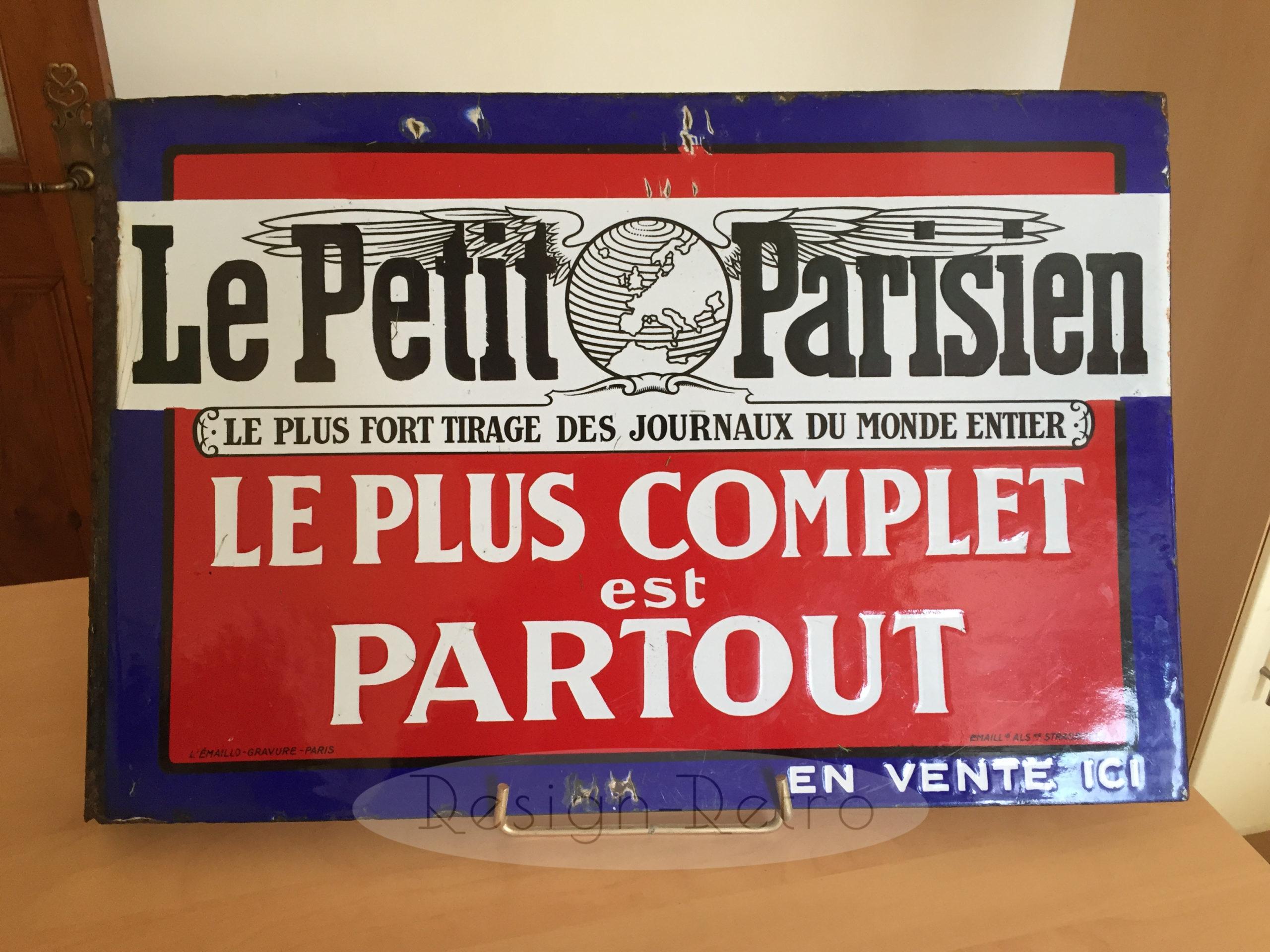 émaillerie alsacienne paris presse publicitaire