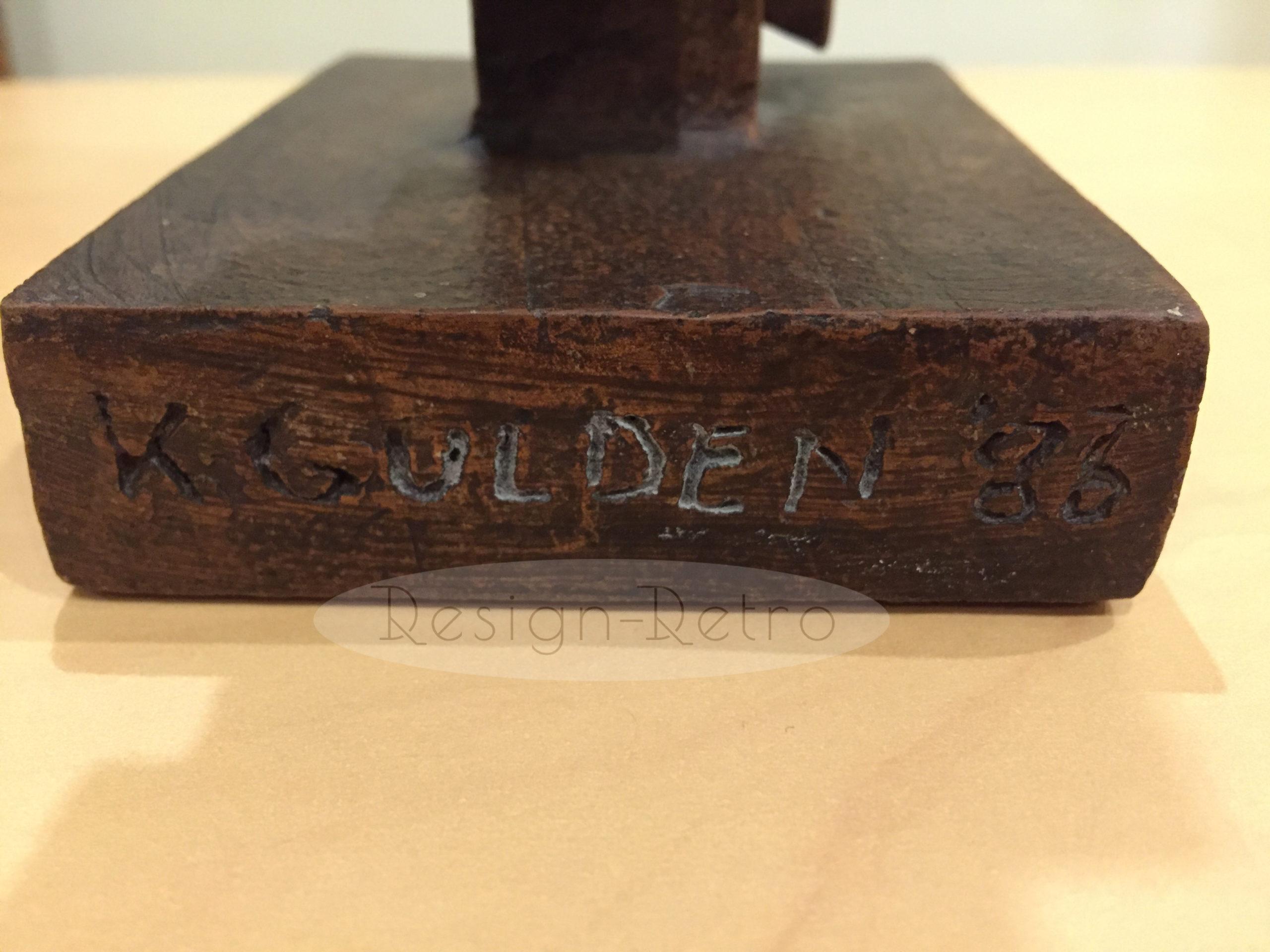 sculpture karen gulden abstraite moderniste art